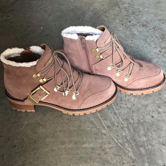 Katie Suede Side Zip Boots | Poshmark